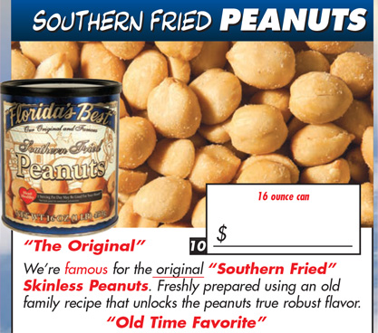 Southern Fried Peanuts